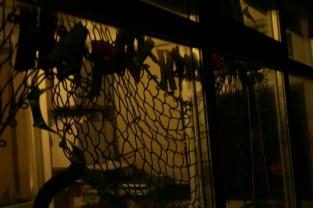 Scrapstore Halloween decorations via secondhandtales.worpdress.com