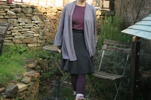 a (mostly) second-hand outfit which I wore for #Secondhand First challenge run by TRAID. Alas I never finished the week as I came down with a bad cold