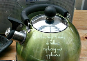 Five ways to make do without replacing your appliances