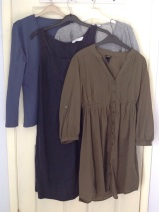 #secondhandfirst week: secondhand tops and bargain White Company Dress