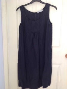 Charity shop haul: dress from The White Company