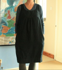 second-hand White Company pinafore