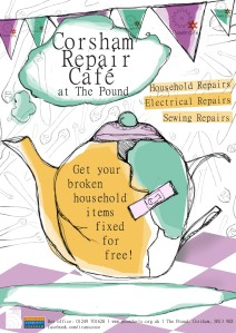 Corsham Repair Cafe September 19th 2015