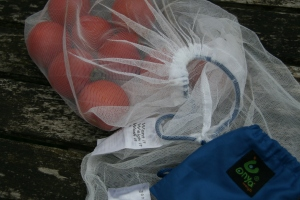 Plastic Free shopping: net produce bags