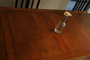 Kitchen table: family heirloom