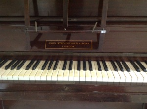 decluttering the piano