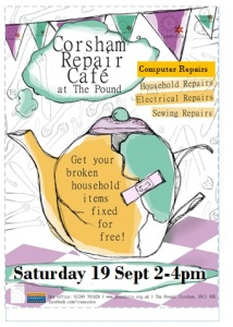 Corsham Repair Cafe 19 Sept 2015