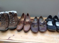Project 333 Autumn: shoes and boots