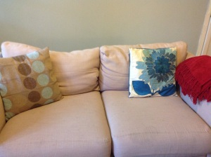 second-hand soft furnishings