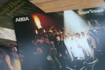 second-hand vinyl finds; Super Trouper