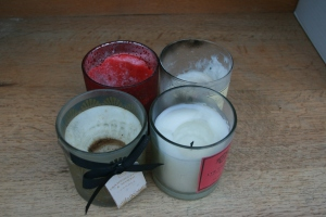 upcycling old candles