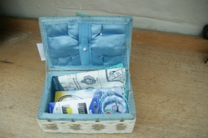 second-hand sewing box