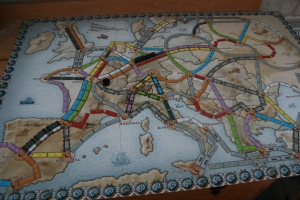 Board games at Christmas: Ticket to Ride