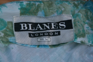 Blanes of London label
