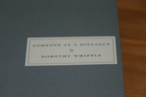 Dorothy Whipple: Someone at a Distance