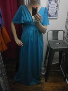 1970s evening dress