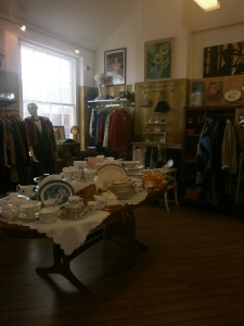 Vintage Charity Shops: Julian House, Bath