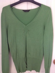 green jumper