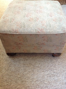 secondhand footstool