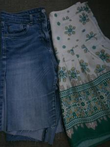 skirt upcycle