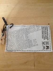 Redbubble label