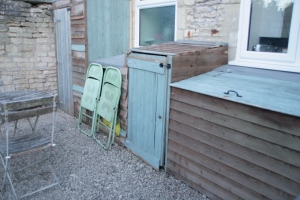 upcycled garden sheds