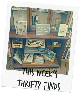 This Week's Thrifty Finds via secondhandtales.wordpress.com