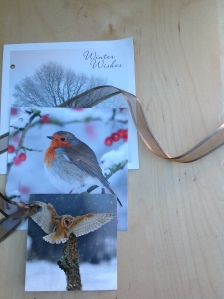 Re-using Christmas cards via secondhandtales.wordpress.com