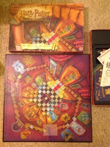 second-hand Harry Potter boardgame via secondhandtales.wordpress.com