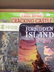 charity shop puzzles and games via secondhandtales.wordpress.com