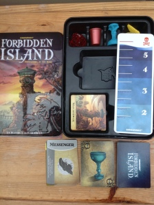 second-hand Forbidden Island game