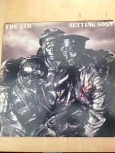 The Jam vinyl