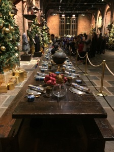 Harry Potter Studios Tour: The Great Hall