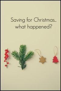 Saving for Christmas - the results