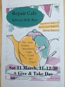 Repair Cafe in Box, Wiltshire
