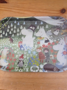Jumble sale find: Moomin tray via secondhandtales.wordpress.com