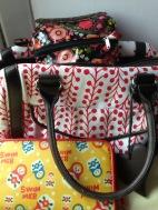 charity shop handbag and purse
