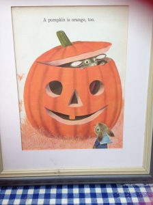 richard scarry, pumpkin