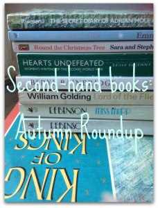 charity shops secondhand books