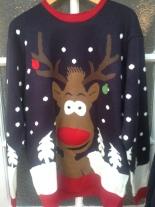 Charity shop Christmas jumper
