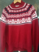 Charity shop Christmas jumper