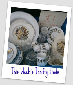 Thrifty Finds, Saving Money v ia secondhandtales.com